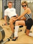 Kinky older gym Dominatrax bj – courtesy of Lady Sonia